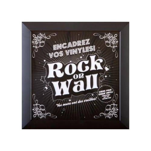 Cadre Vinyle Rock On Wall